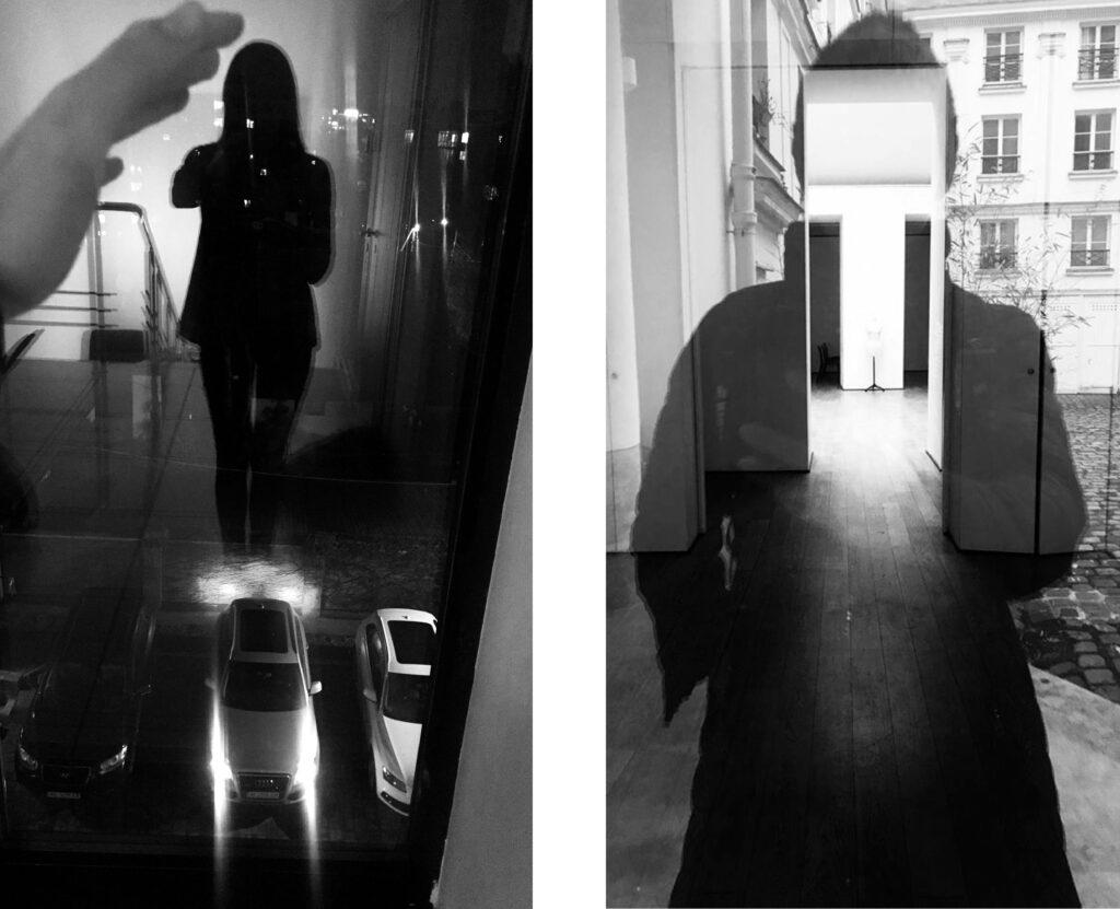 Стрит-селфи Даши Орлянской. Собственные фото в отражениях.