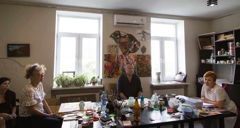 У Музеї українського живопису відкрилася виставка гарячої емалі - 1 зображення
