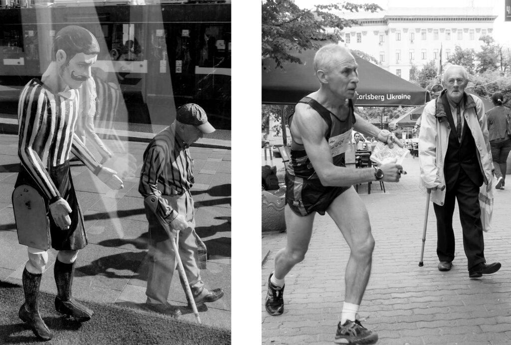 Стрит-фото пожилых мужчин. Фото Даши Орлянской.