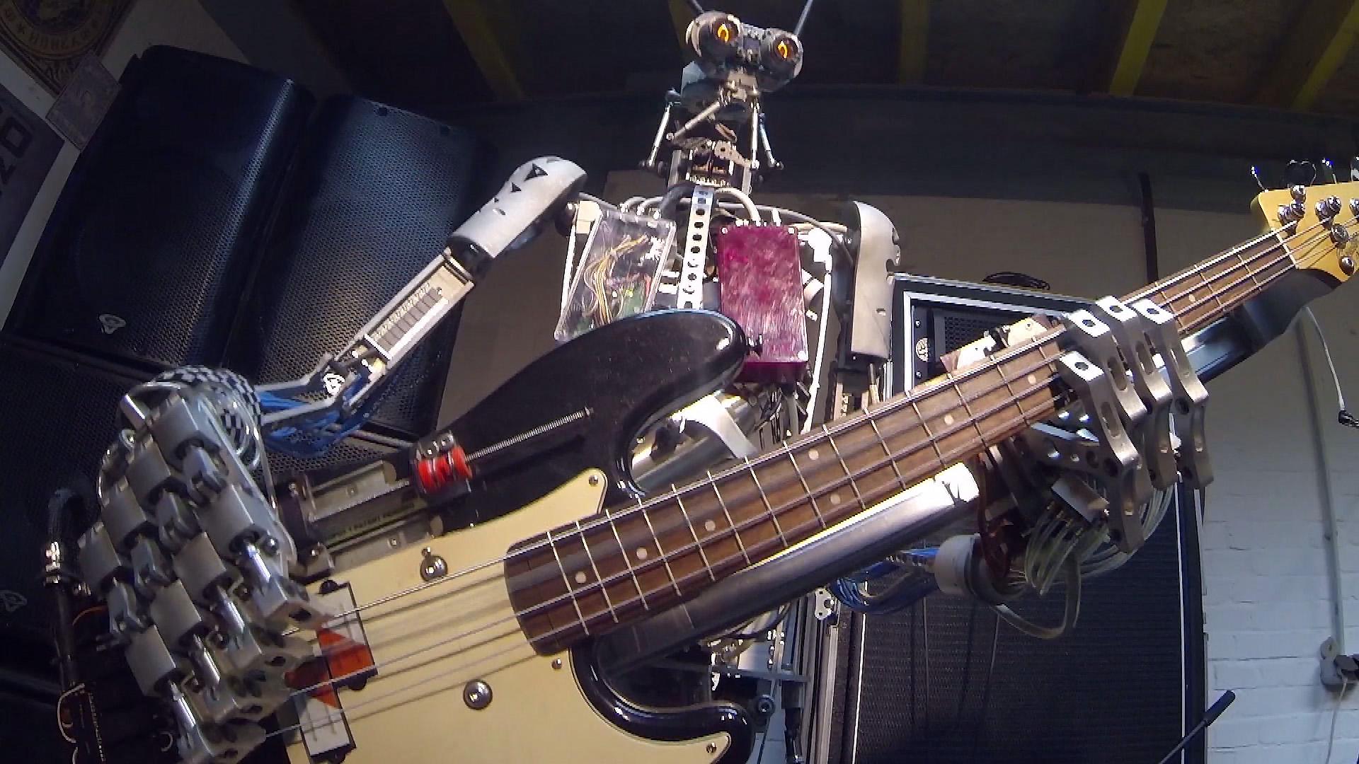 На Interpipe TechFest виступить рок-гурт роботів з Берліну
