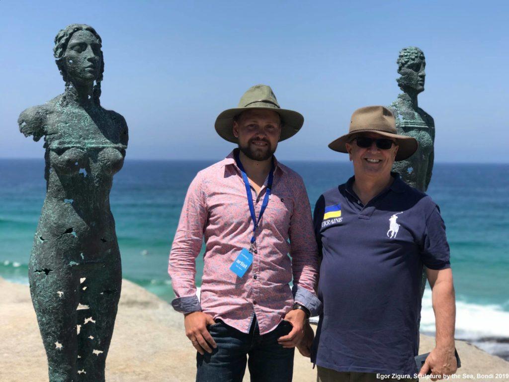 Скульптор із Дніпра вперше представив Україну на культовій виставці в Австралії - 1 зображення