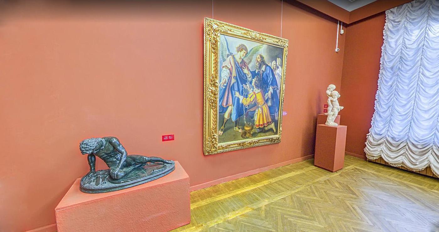 Художній музей запустив 3D-тур основною експозицією