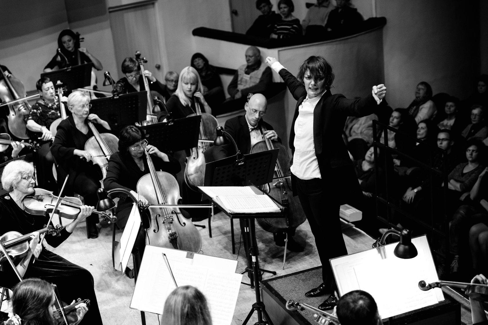 Томас, флейта, два диригенти