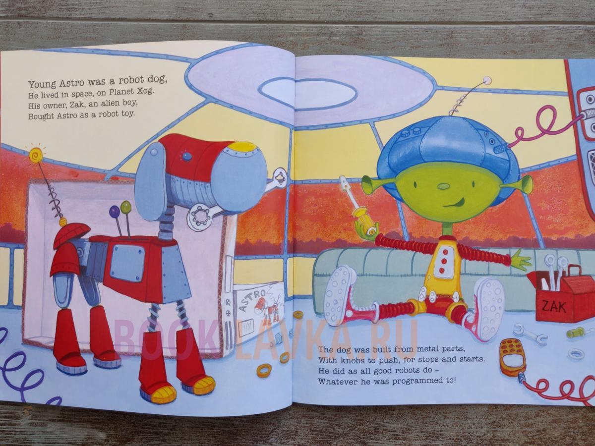 """Планетарій випустив українську версію казки """"Астро – робот-собака"""""""