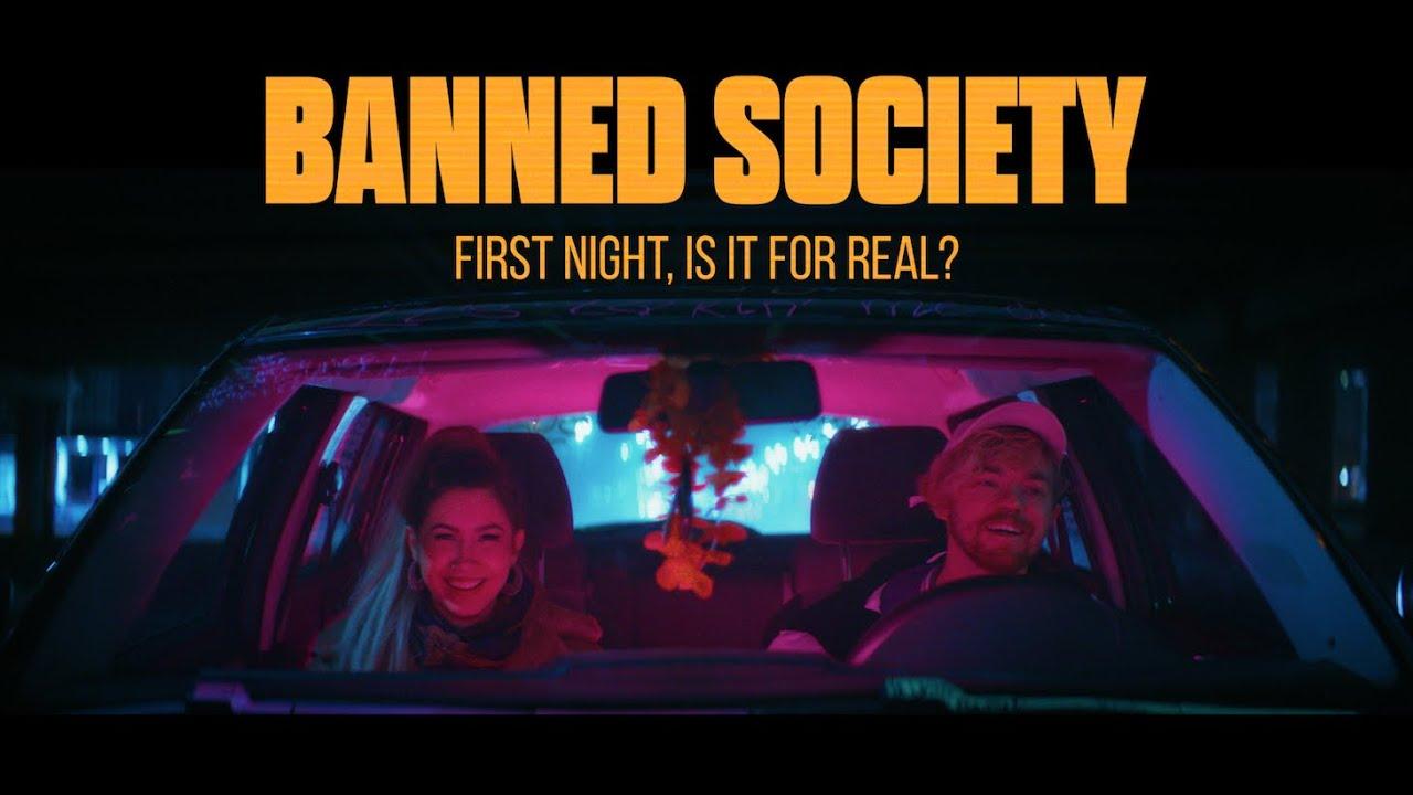У гурту banned society вийшов кліп на пісню First Night, Is It for Real?