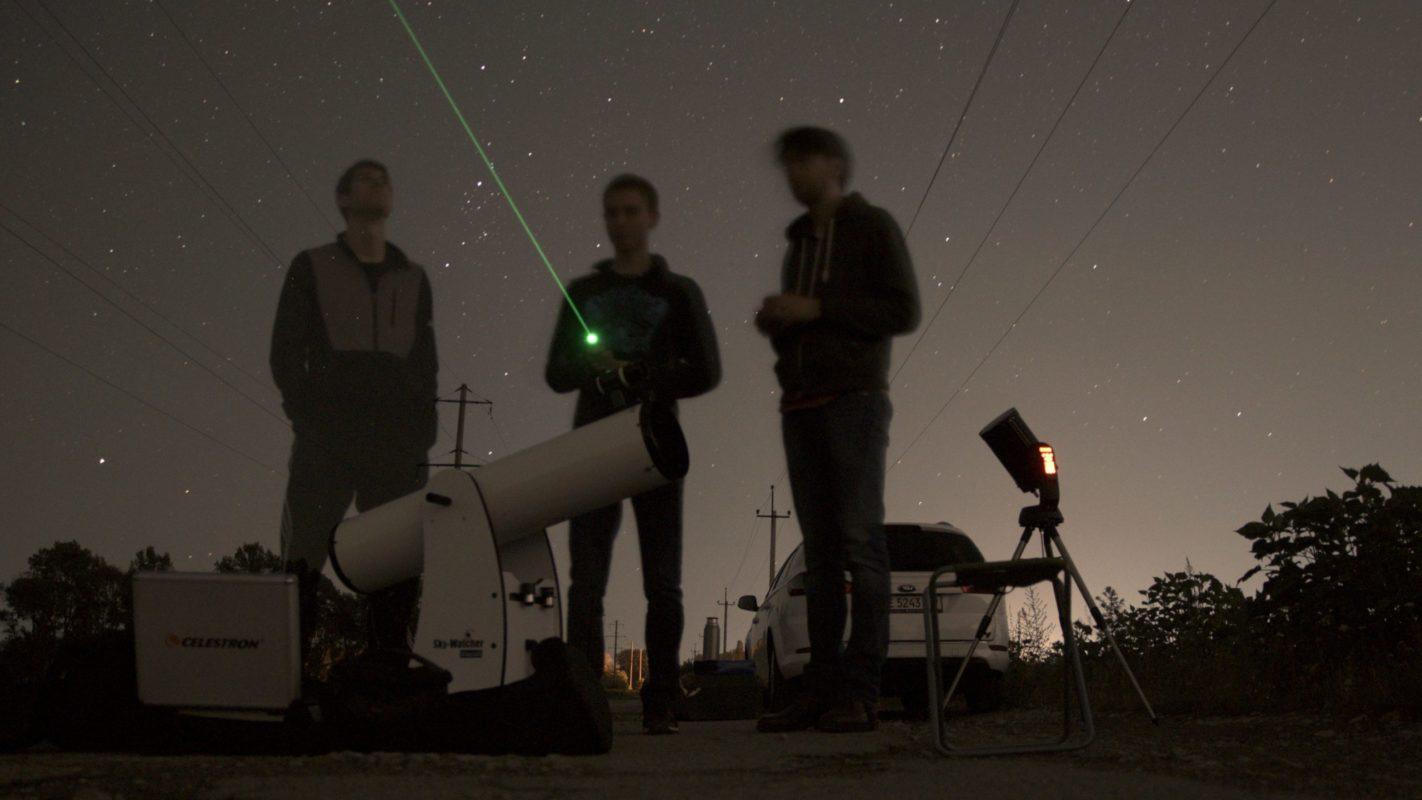 На стадіоні ДНУ любителі астрономії спостерігатимуть Персеїди