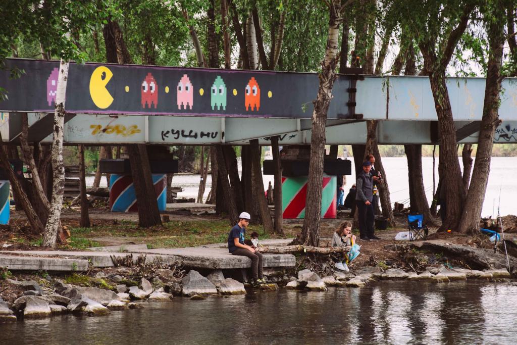Стрит-арт в Днепре: имена, истории и споты - 28 зображення