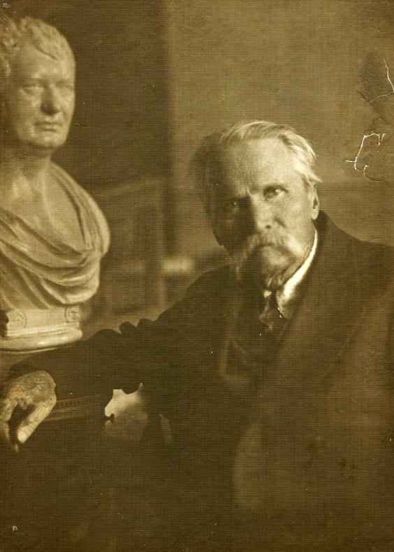 Дмитро Яворницький у 1917 році
