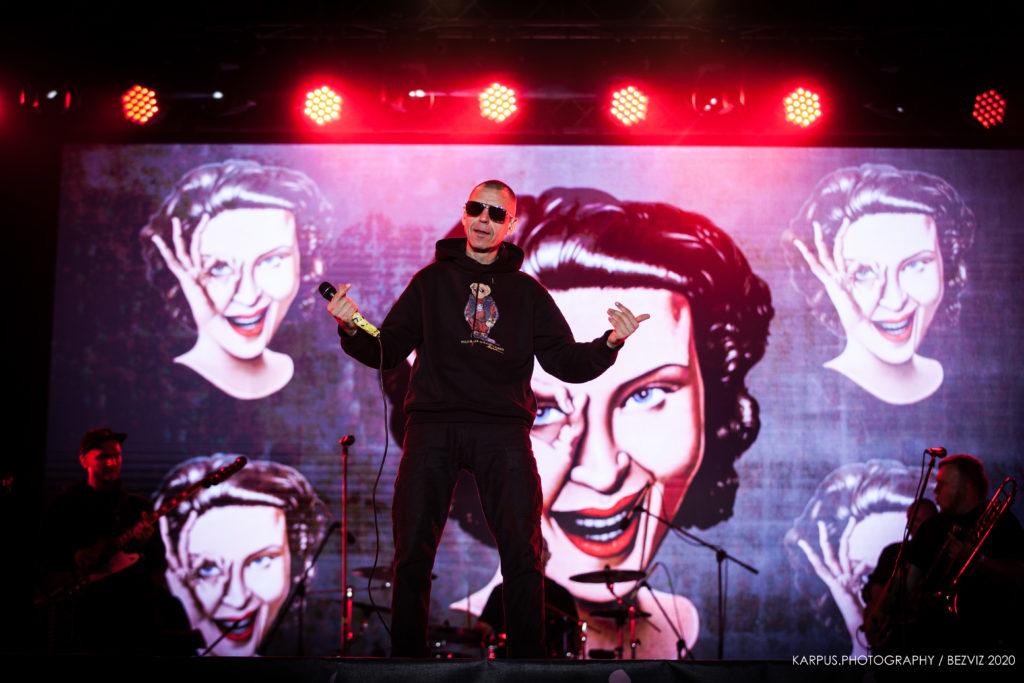 Сергій Міхалок на вечірці без глядачів