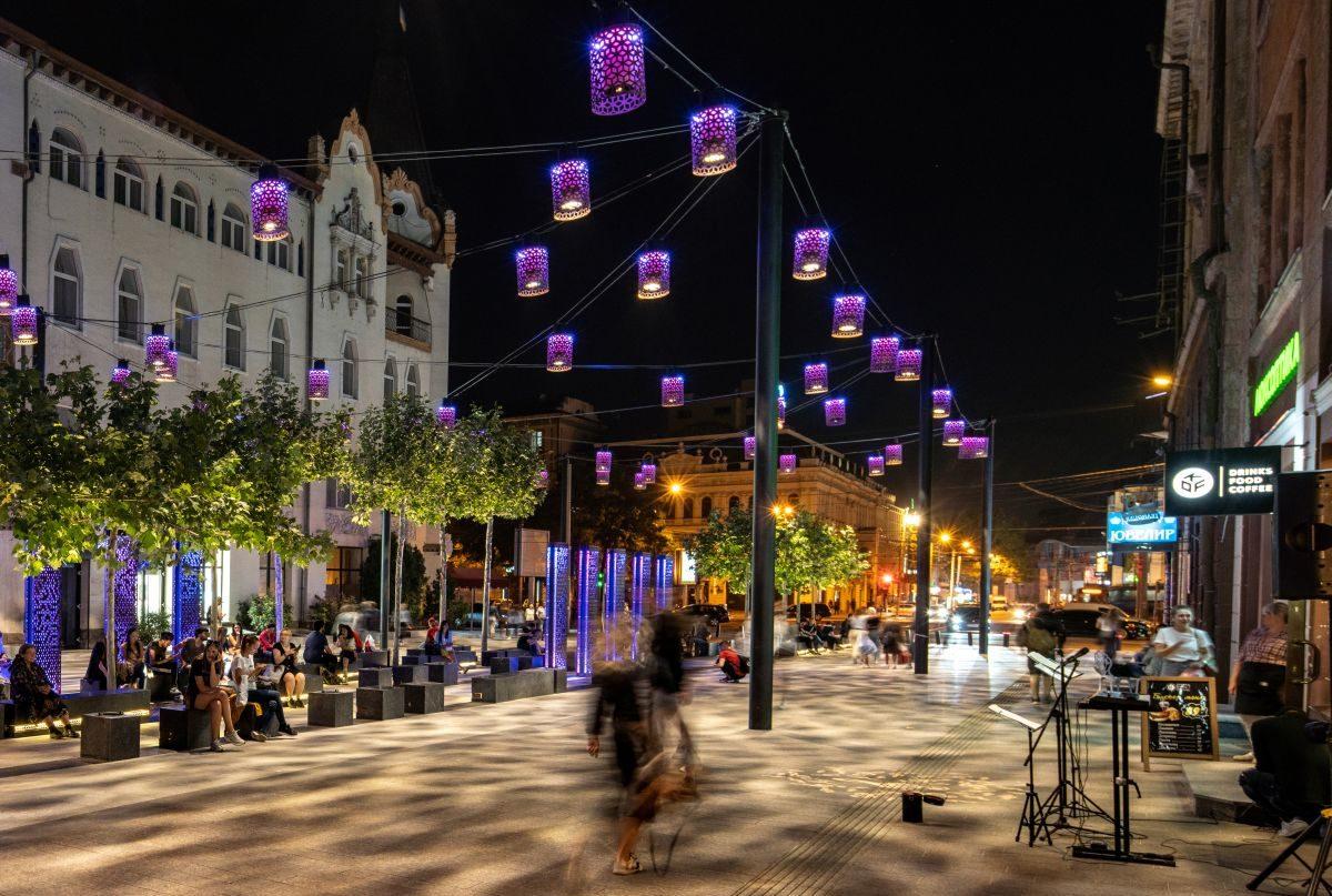 Улица Короленко получила номинацию в конкурсе светового дизайна