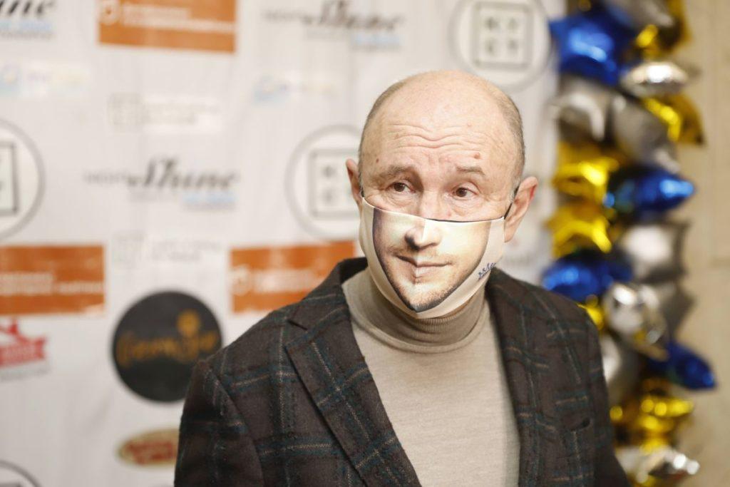 """Григорій Гельфер, голова фонду """"Культурна столиця"""", на балу """"Час сяяти"""""""
