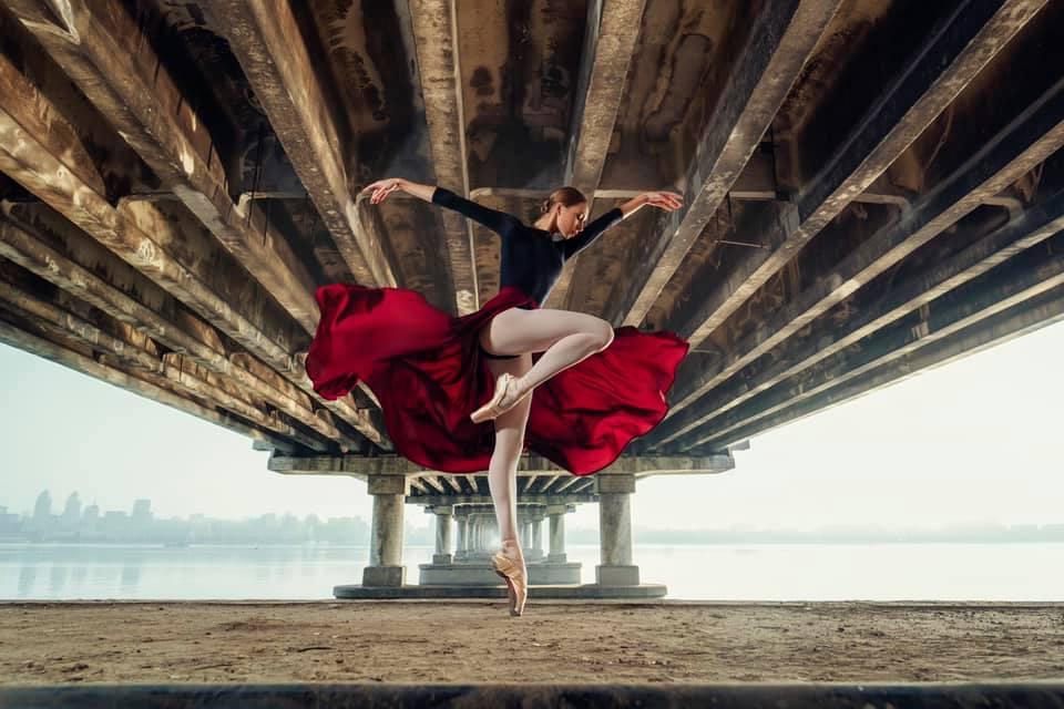 Балерина під мостом: фотограф з Дніпра переміг у міжнародному конкурсі - 1 зображення