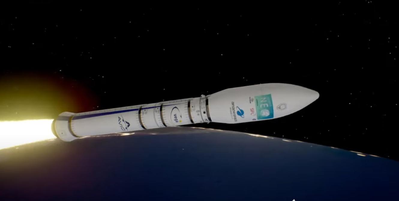 У космос запустили ракету з дніпровським двигуном