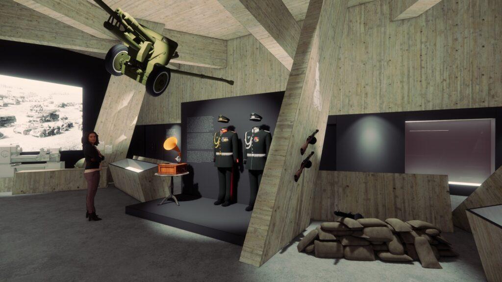 До кінця року в історичному музеї реконструюють зал Другої світової війни: як він виглядатиме - 2 зображення