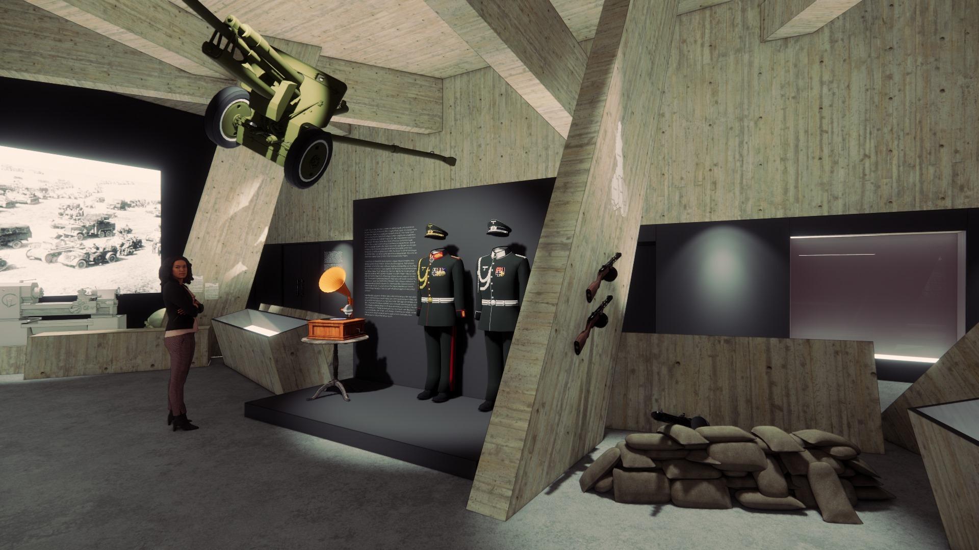 До кінця року в історичному музеї реконструюють зал Другої світової війни: як він виглядатиме