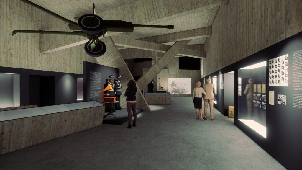 До кінця року в історичному музеї реконструюють зал Другої світової війни: як він виглядатиме - 1 зображення