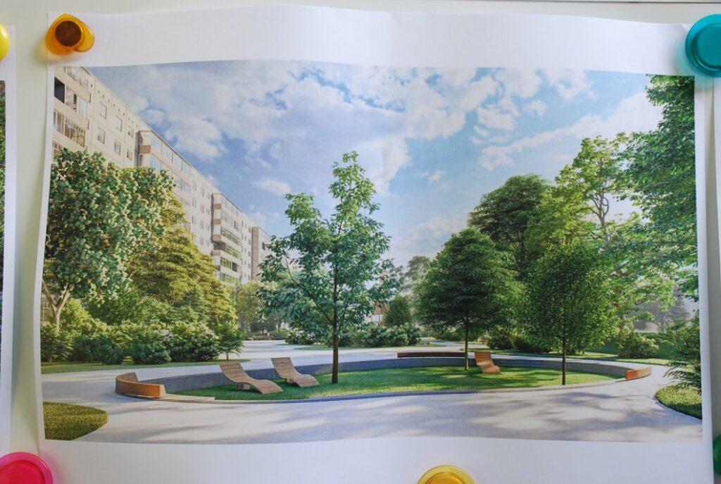 На лівому березі реконструюють три парки: як вони виглядатимуть - 1 зображення