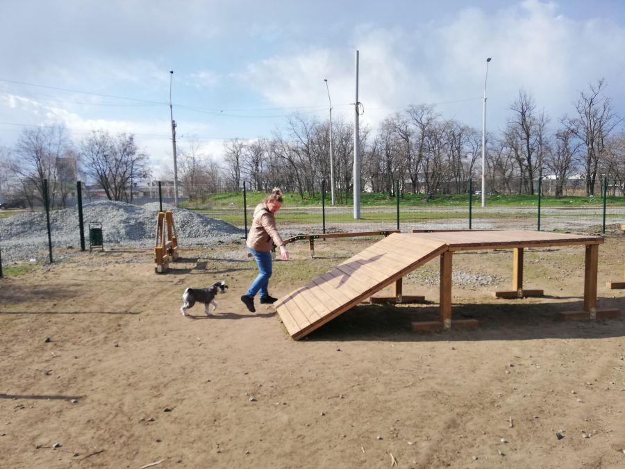 Де гуляти з собакою у Дніпрі: добірка обладнаних майданчиків - 8 зображення