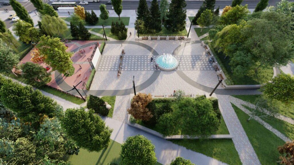 На лівому березі реконструюють три парки: як вони виглядатимуть - 2 зображення
