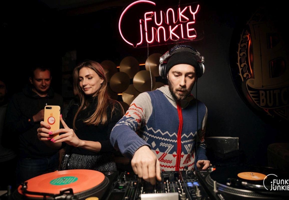 Как создавали вечеринки Funky Junkie