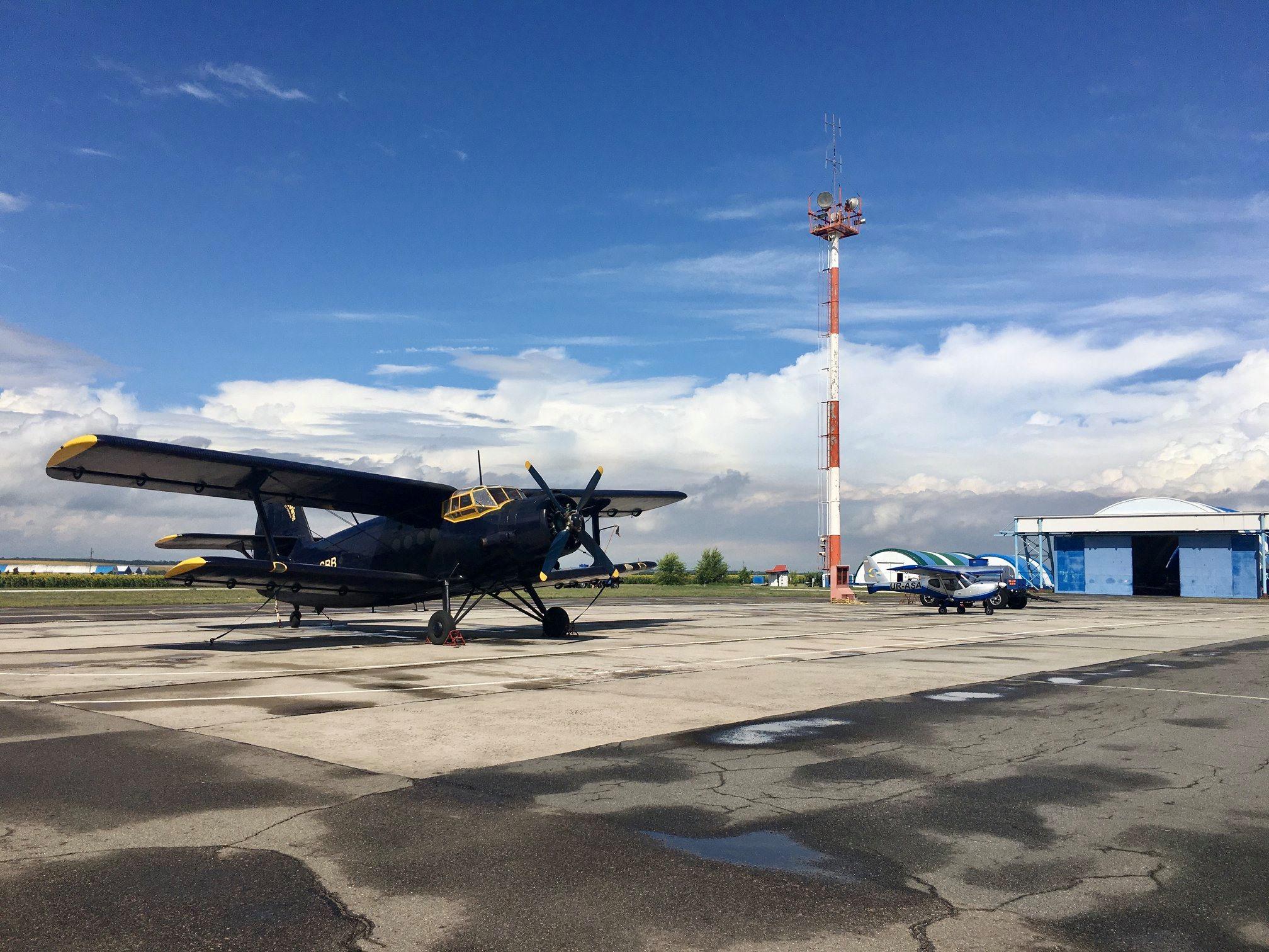Где полетать в Днепре и области: самолёты, воздушные шары, прыжки с парашютом