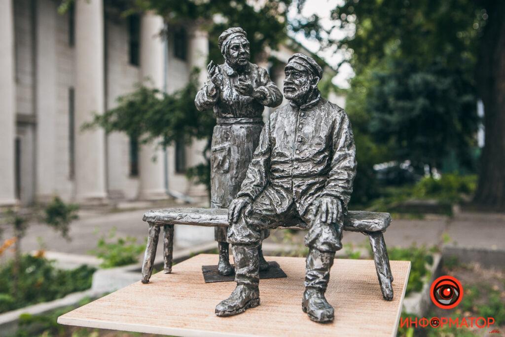 Возле Театра драмы и комедии установят памятник Жану Мельникову и Людмиле Вершининой - 1 зображення