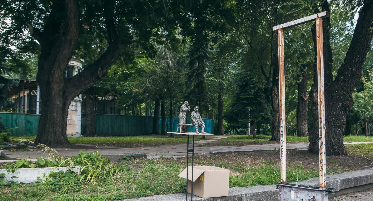 Возле Театра драмы и комедии установят памятник Жану Мельникову и Людмиле Вершининой