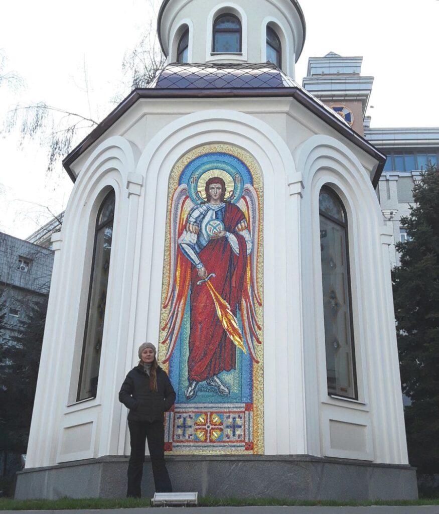 Інга Касаткіна про свої сучасні вітражі, які прикрашають Дніпро - 8 зображення